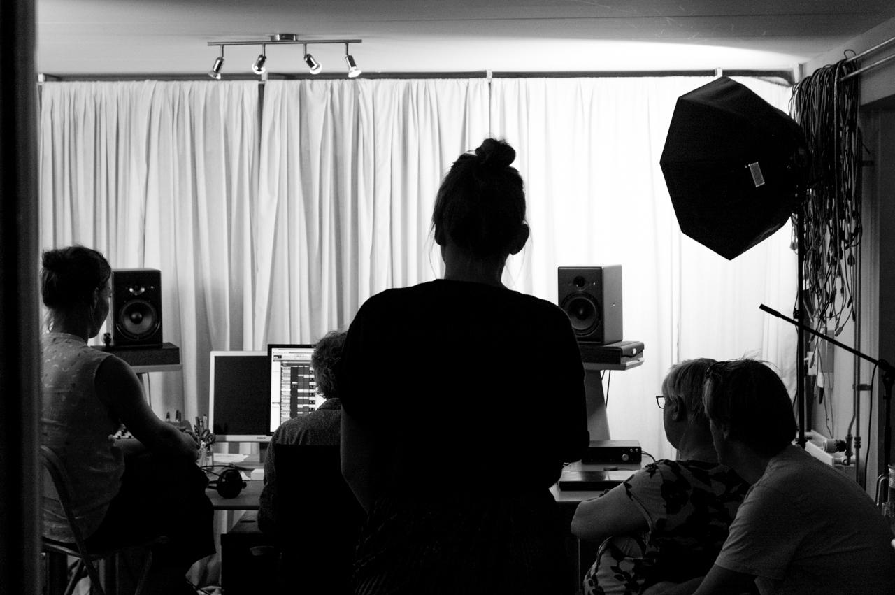 Singer-songwriter Opleiding - de studio in om een demo op te nemen!