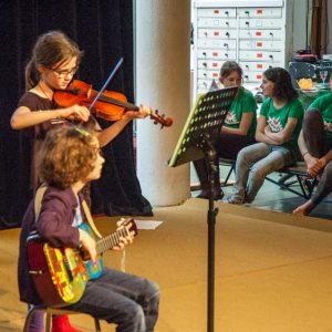 Leerlingenconcert gitaarles LalaLab